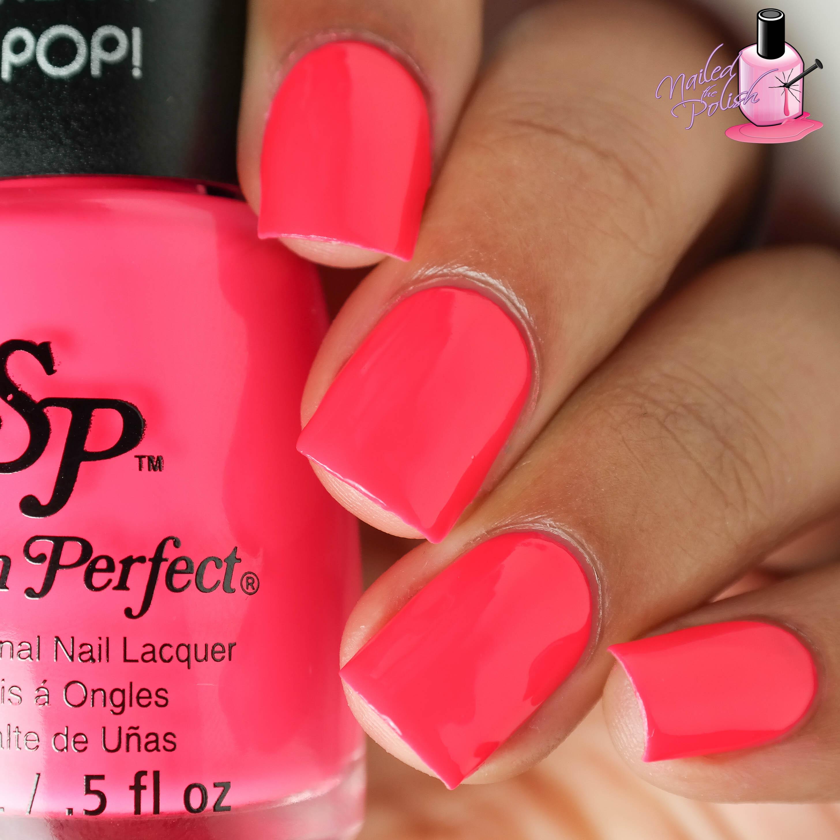 Salon Perfect Neon Pop! Collection   nailedthepolish